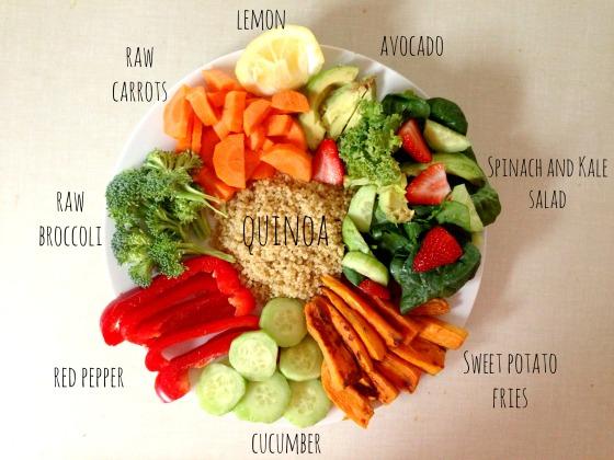 veg tray